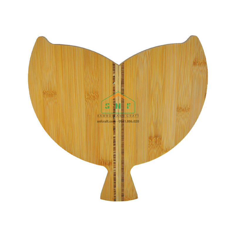 Khay tre hình đuôi cá