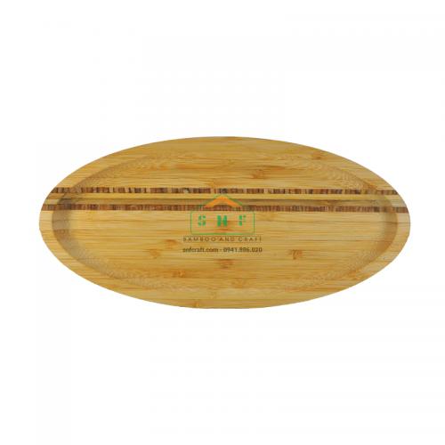 Khay tre nhỏ gọn tiện lợi mang thiết kế lạ đựng thức ăn và decor sản phẩm