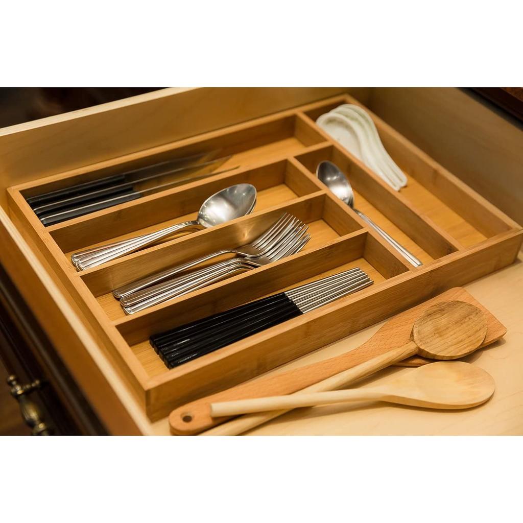 Khay đựng dao nĩa ăn ngăn tủ