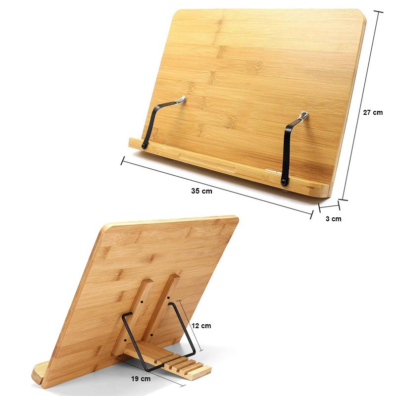 Kệ đọc sách gỗ tre tự nhiên snf bamboo and craft